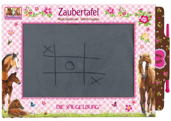 Доски и мольберты Spiegelburg Игровая доска Pferdefreunde 25551 g b fabricantes игровая школьная доска на ножках