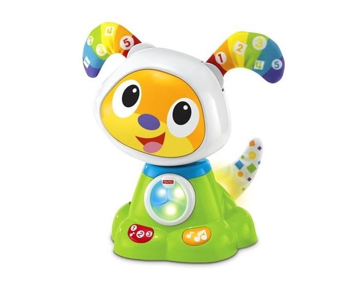 Интерактивная игрушка Fisher Price Mattel Танцующий щенок робота Бибо