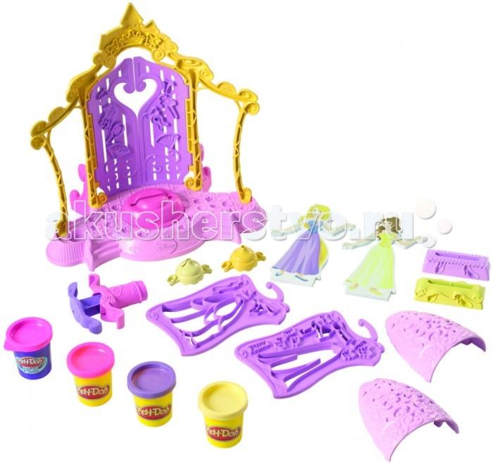 Play-Doh Hasbro Набор Бутик для принцесс ДиснейHasbro Набор Бутик для принцесс ДиснейНабор пластилина Play-Doh Hasbro Бутик для принцесс Дисней это прекрасный набор пластилина для творчества Вашей маленькой принцессы .  Ваша малышка может создавать красивые наряды для принцесс , благодаря удобным трафаретам входящим в комплект .  Пластилин Play Doh от Hasbro липнет к рукам и поверхностям, легко собирается обратно в банку, без воды застывает (поэтому любимую фигурку можно сохранить надолго), но как только потребуется, пластилин нужно смочить водой, и он вновь станет мягким, как и был.   Пластилин Play Doh уникален тем, что разработан на пищевой основе, поэтому безопасен для детей, даже в случае, если случайно попадет им в рот и будет проглочен.<br>