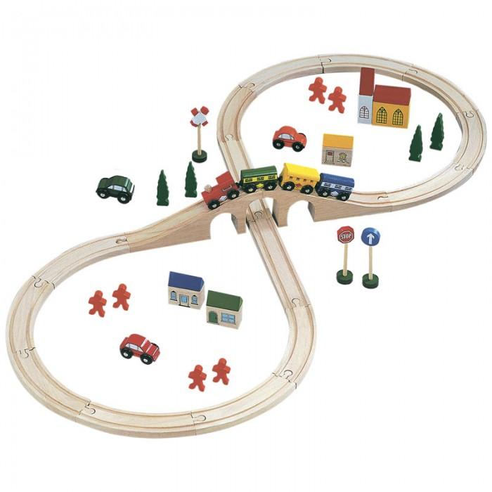 Железные дороги Bino Железная дорога 82242 железные дороги keenway набор железная дорога