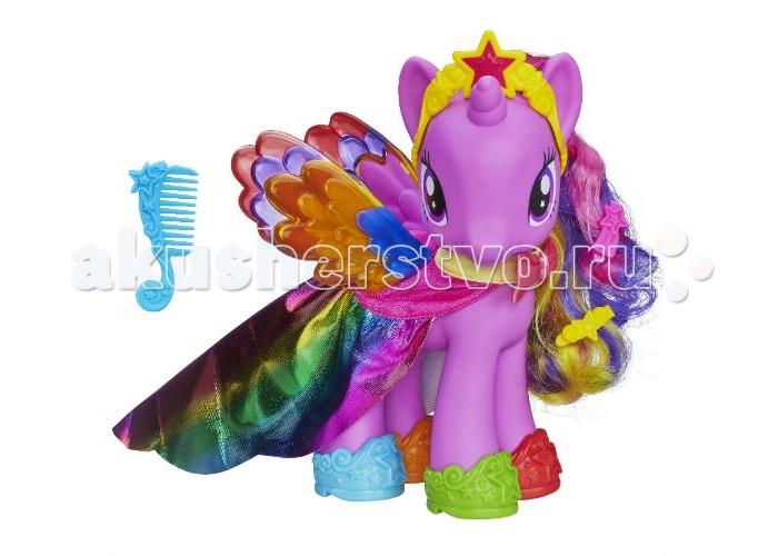Игровые наборы Май Литл Пони (My Little Pony) Пони-модницы Принцесса Твайлайт Спаркл 20 см игровые наборы май литл пони my little pony pop флаттершай