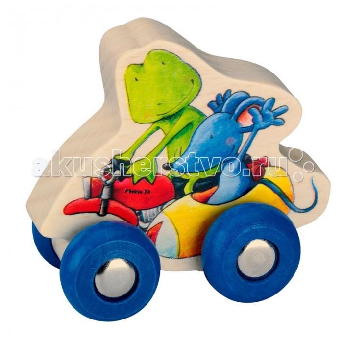 Деревянная игрушка Spiegelburg Автомобиль Ole und Ida Die Lieben Sieben 21261