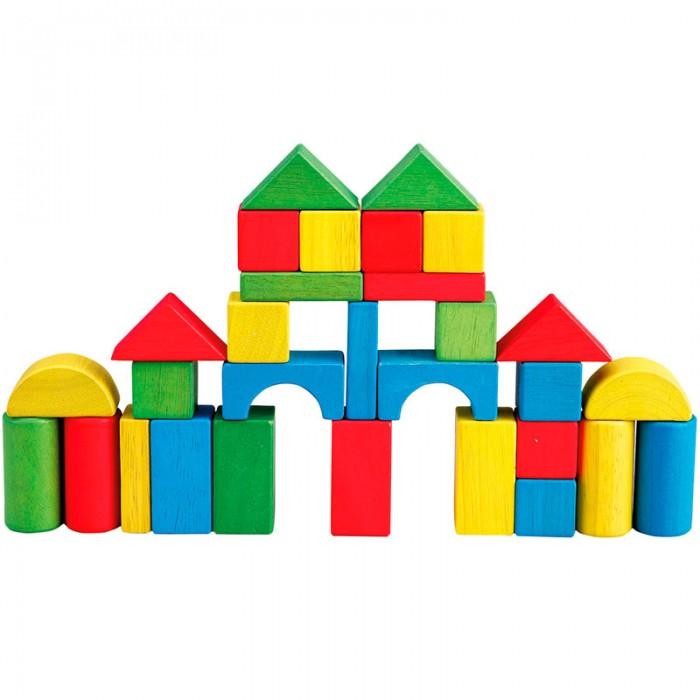 Деревянная игрушка LeToyVan Пирамидка Зеленое дерево с птенцом