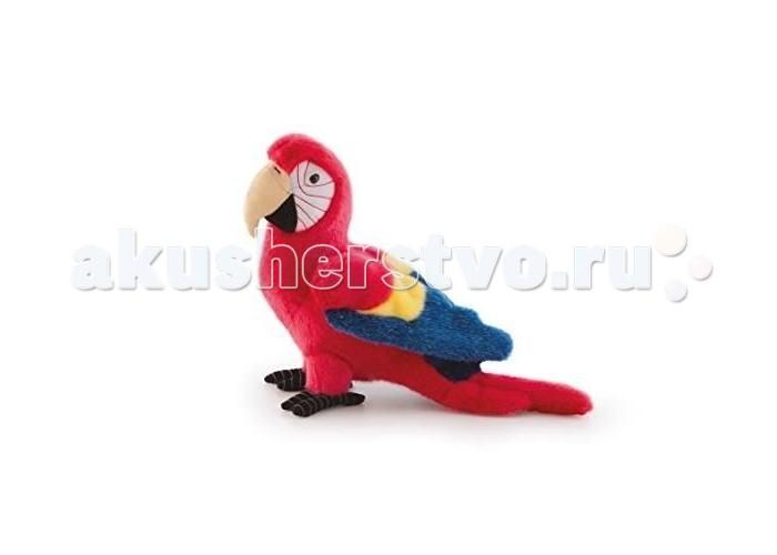Мягкая игрушка Trudi Красный попугай Кристофоро 32 см