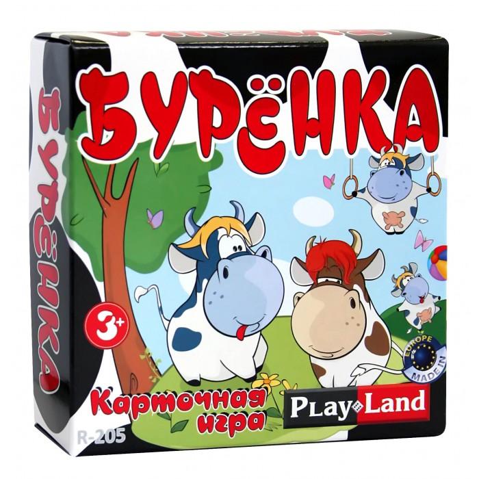 Настольные игры Play Land Настольная игра Буренка play doh игровой набор магазинчик домашних питомцев
