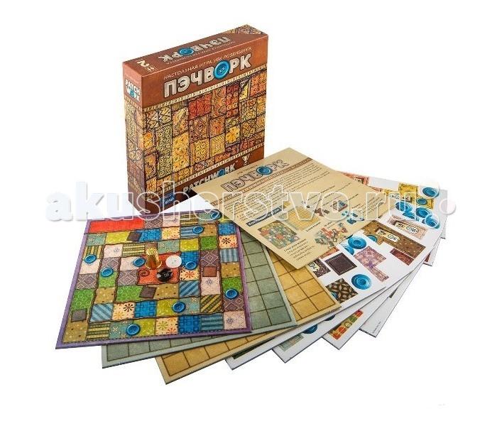 Настольные игры Бэмби Настольная игра Уве Розенберга Пэчворк 7803