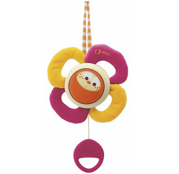 Подвесные игрушки Chicco Цветок музыкальный мягкие игрушки chicco музыкальный мячик
