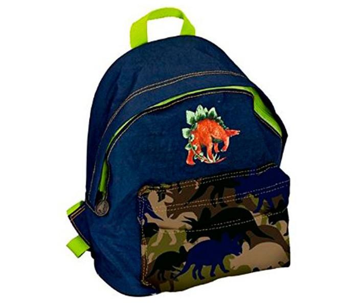 Spiegelburg Рюкзак для детского сада T-Rex World 11674Школьные рюкзаки<br>Детский рюкзак T-Rex World незаменимая вещь для похода в детский сад. Имеет два отделения на молнии, эргономичные лямки и поясной ремешок.   Особенности:  Размер: 20 х 25 х 10 см