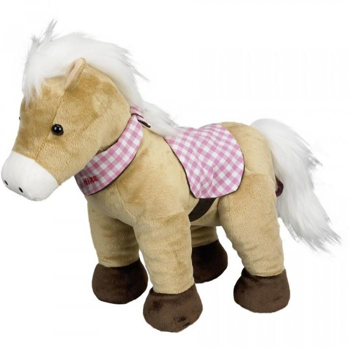Мягкая игрушка Spiegelburg Плюшевая лошадка Nixe 25456Плюшевая лошадка Nixe 25456Spiegelburg Плюшевая лошадка Nixe 25456. Мягкая плюшевая лошадка понравится любителям этих грациозных животных.  Милая лошадка станет добрым другом для любого ребенка. Эта мягкая и очаровательная игрушка украсит детскую комнату, наполнит её атмосферой нежности и доброты, а главное - подарит вашему ребенку много радостных минут. Лошадку можно брать с собой в путешествия, в детский сад...  Лошадка украшена косынкой, как настоящий ковбой.<br>