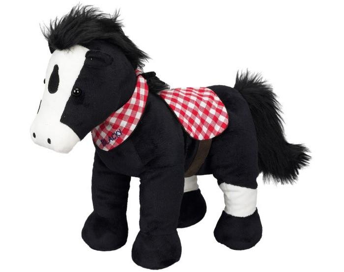 Мягкая игрушка Spiegelburg Плюшевая лошадка Blacky 25460 38 см