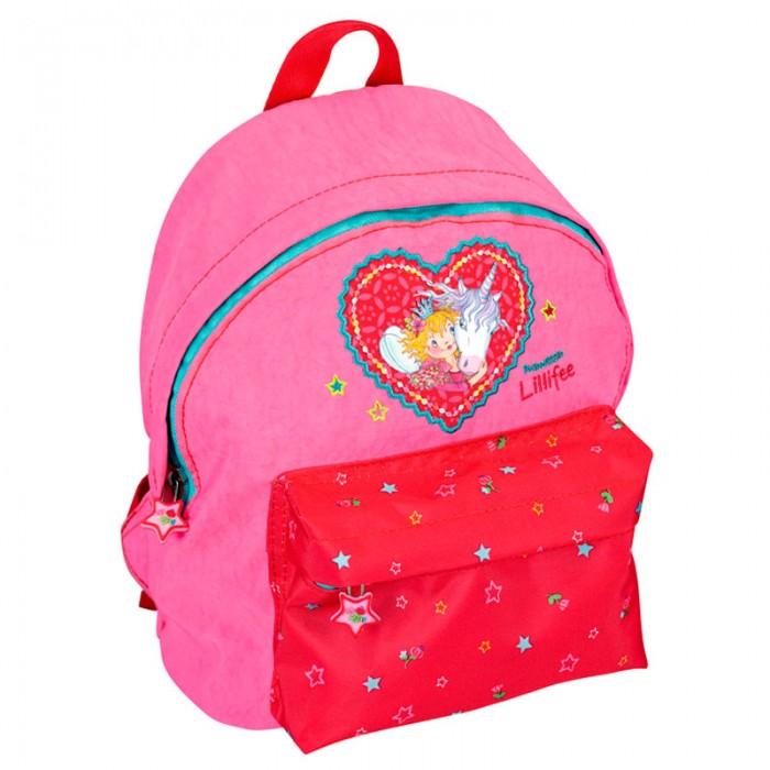 Spiegelburg Рюкзак для детского сада Prinzessin Lillifee 11148Рюкзак для детского сада Prinzessin Lillifee 11148Небольшой рюкзак Prinzessin Lillifee для детского сада и отдыха. С ярким печатным рисунком розового цвета. Оснащен съемным нагрудным ремнем. Одно отделение на молнии, впереди дополнительный карман и удобная ручка для удобства переноски.  Особенности:  Размер: 20 х 25 х 10 см<br>