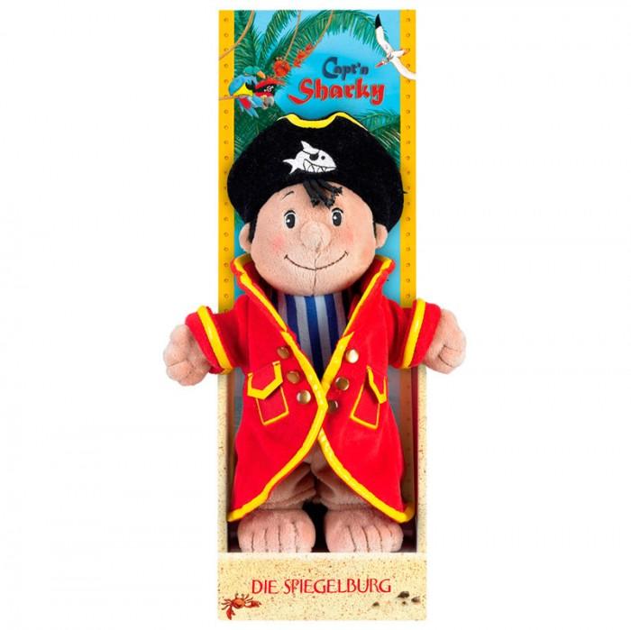 Мягкая игрушка Spiegelburg Плюшевый Captn Sharky 25194Плюшевый Captn Sharky 25194Spiegelburg Плюшевый Captn Sharky 25194. Очаровательный маленький пират в веселом наряде непременно поднимет настроение Вам и Вашему малышу.   Капитан Шарки очень любит опасности и морские приключения. Ваш малыш с удовольствием будет играть с озорным пиратом и засыпать только с ним в обнимку.  Игрушка сшита из мягкого текстильного материала, приятного на ощупь и абсолютно безопасного для детского здоровья.<br>