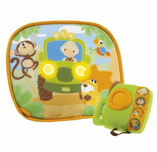 Подвесные игрушки Chicco Мягкая игровая панель в автомобиль, Подвесные игрушки - артикул:19815