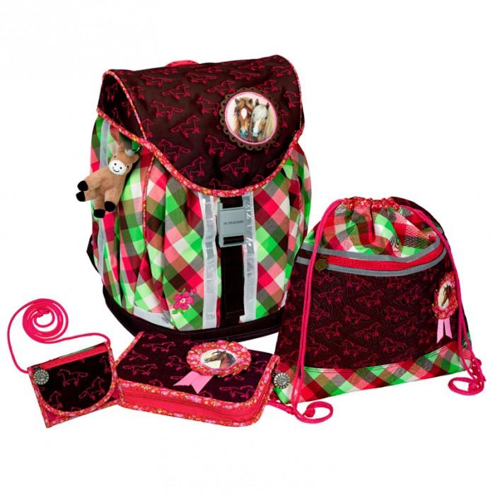 Spiegelburg Школьный рюкзак Pferdefreunde Flex Style с наполнением 10577