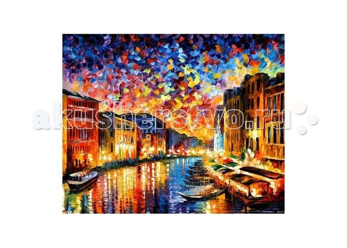 Картины по номерам Molly Картина по номерам Л.Афремов Венеция цветной картины по номерам щенки на поляне