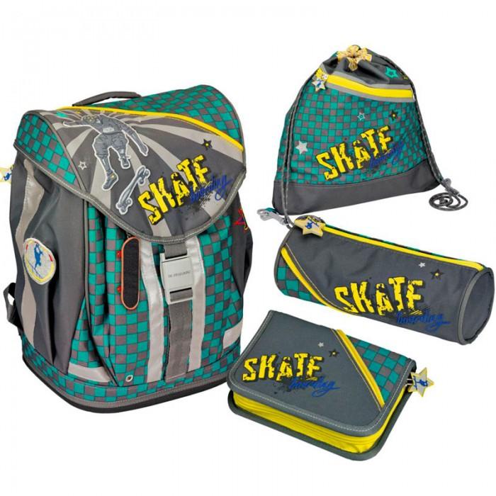 Spiegelburg Школьный рюкзак Skateboarding Flex Style с наполнением 11871 от Spiegelburg