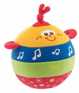 Мягкие игрушки Chicco Мячик музыкальный
