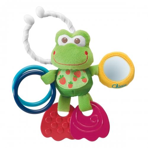 Подвесные игрушки Chicco Лягушонок подвижный где можно игрушки в авто мишлен