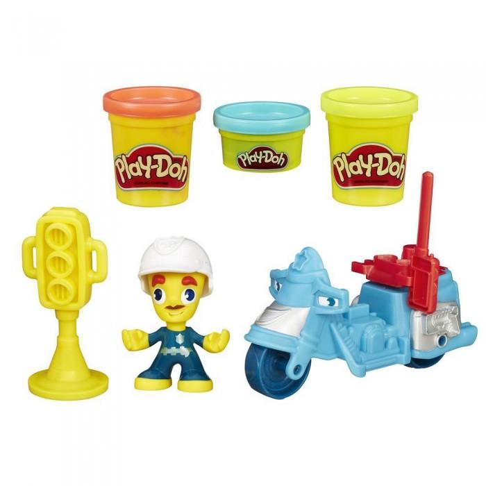 Всё для лепки Play-Doh Игровой набор пластилина Город Транспортные средства play doh игровой набор праздничный торт
