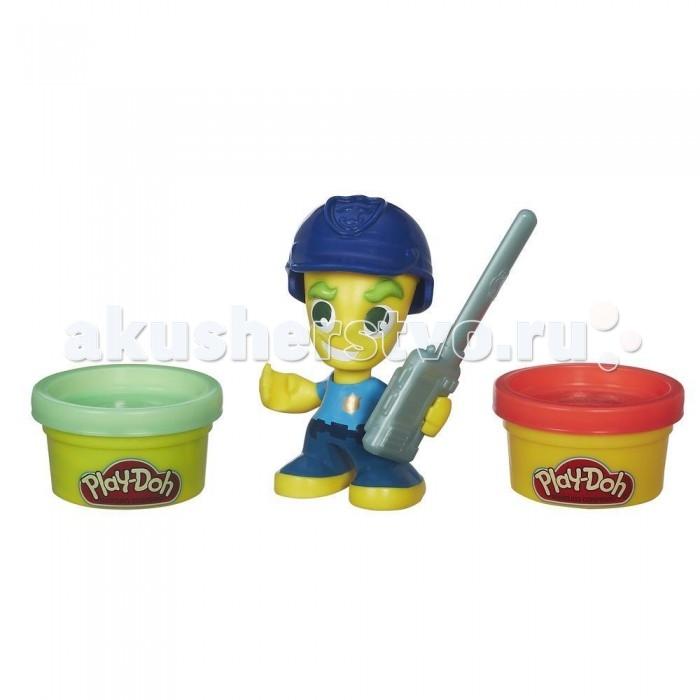 Всё для лепки Play-Doh Игровой набор пластилина Город Фигурки Полицейский набор для лепки play doh сладкий завтрак 6 цветов b9739