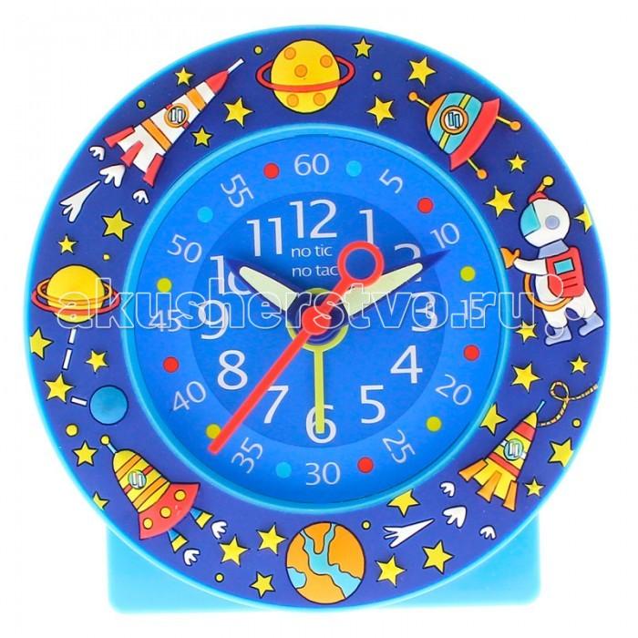 Часы Baby Watch Будильник Cosmos 600830Будильник Cosmos 600830Baby Watch Будильник Cosmos 600830. Оформлен 3D рельефом с астронавтом, космическим кораблем, планетами и звездами.    Основные характеристики: возраст от 6 лет батарейка АА (не входит в комплект) люминесцентные стрелки тихий ход гарантия 2 года. Все модели часов разработаны во Франции, прошли проверку в независимой лаборатории и сделаны из безопасных материалов.<br>