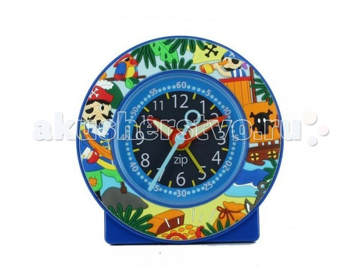 Часы Baby Watch Будильник Pirates 605460 baby watch наручные zip pirates 600533