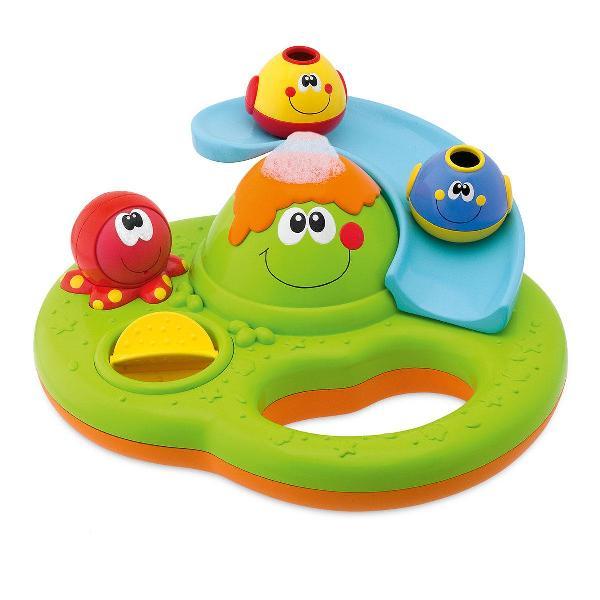 Игрушки для ванны Chicco Остров пузырьков игрушки для ванной chicco игрушка для ванны остров с пузырьками