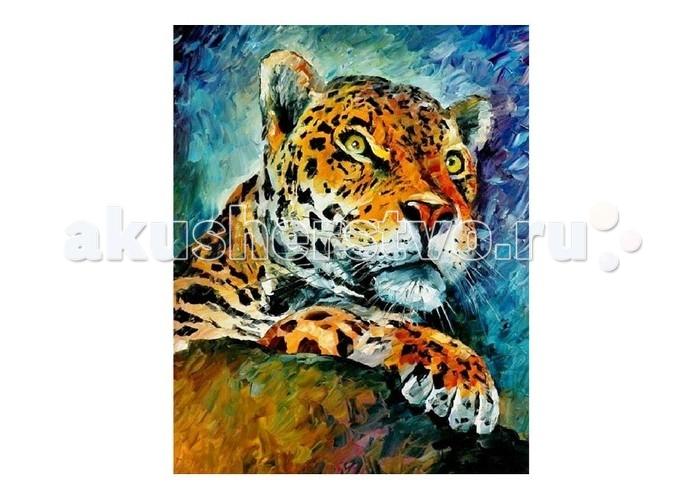 Картины по номерам Molly Картина по номерам Л.Афремов Леопард наборы для рисования цветной картины по номерам сова на дереве