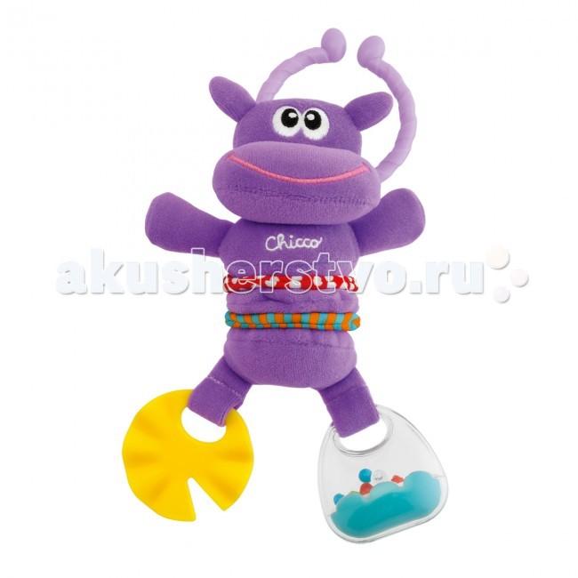 Подвесная игрушка Chicco Веселый бегемотик