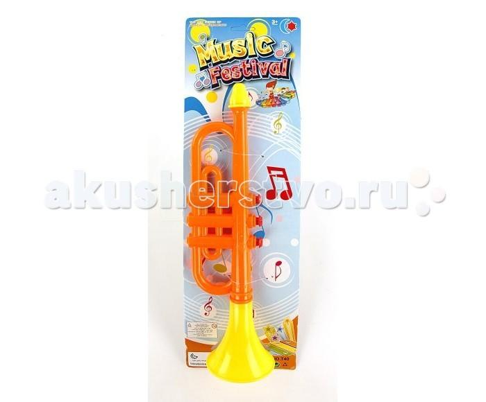 Музыкальные игрушки Shantou Gepai Горн 34 см лодка shantou gepai reskyer city патрульная лодка 15 см красный свет звук 777 20b