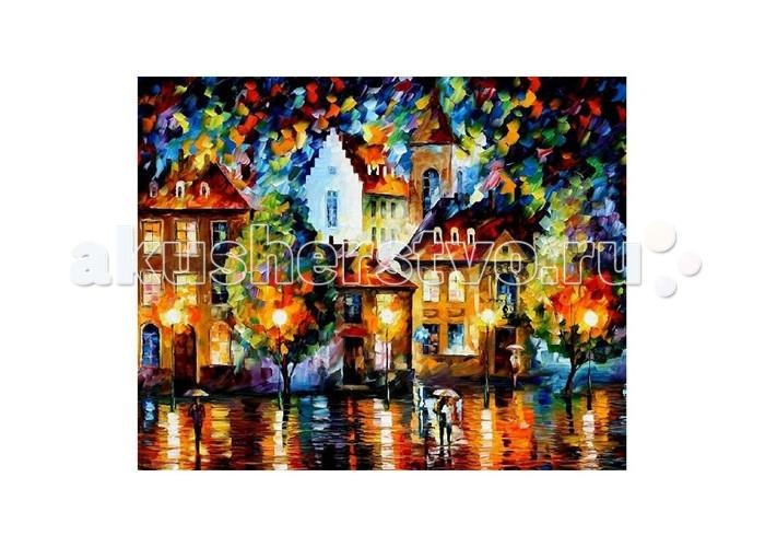 Картины по номерам Molly Картина по номерам Л.Афремов Люксембург Ночь