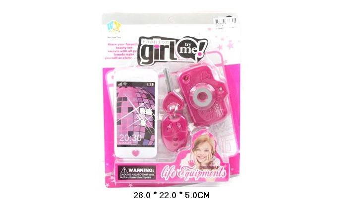 Игровые наборы Shantou Gepai Набор аксессуаров Fashion girl WY333-6