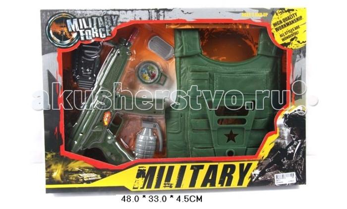 цены Игрушечное оружие Shantou Gepai Набор Военный с бронежилетом