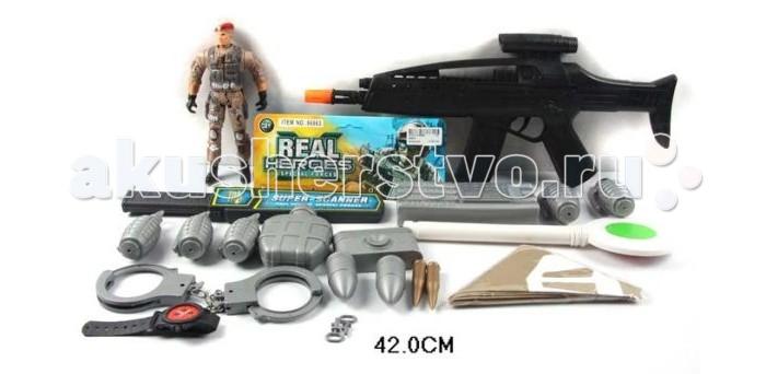 Игрушечное оружие Shantou Gepai Набор Военный, солдаты, аксессуары 66863 shantou набор дельфин и морской конек 3302b gepai
