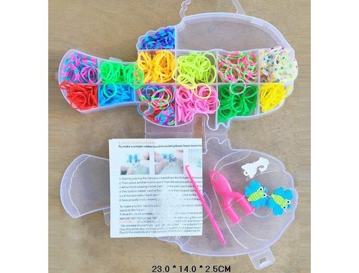 Наборы для творчества Shantou Gepai Набор для плетения браслетов, с подвесками
