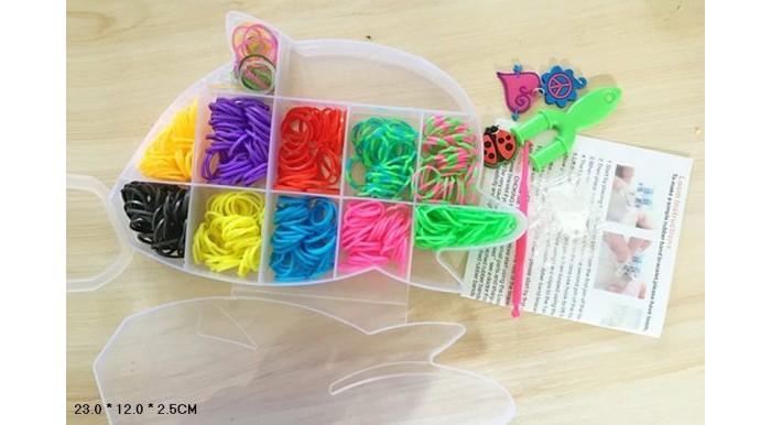 Наборы для творчества Shantou Gepai Набор для плетения браслетов, с подвесками D163