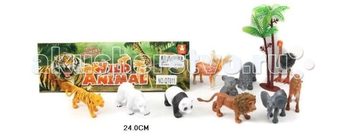 Игровые фигурки Shantou Gepai Набор дикие животные QT011 дикие животные