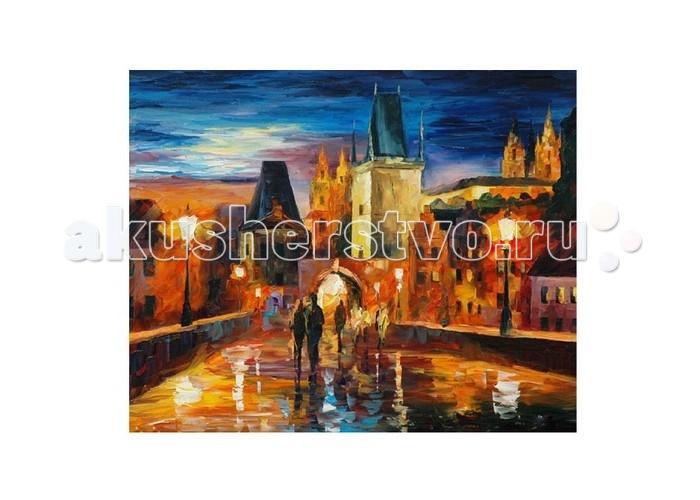 Картины по номерам Molly Картина по номерам Л.Афремов Ночь в Праге molly картина по номерам сальвадор дали галатея сфер