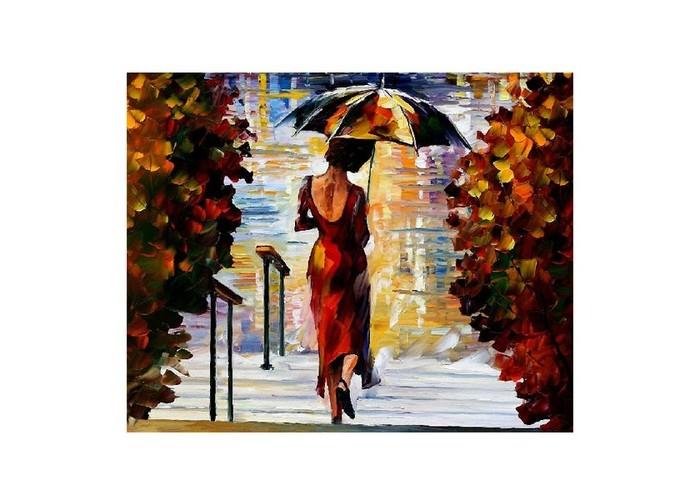 Картины по номерам Molly Картина по номерам Л.Афремов На ступеньках molly картина по номерам сальвадор дали галатея сфер