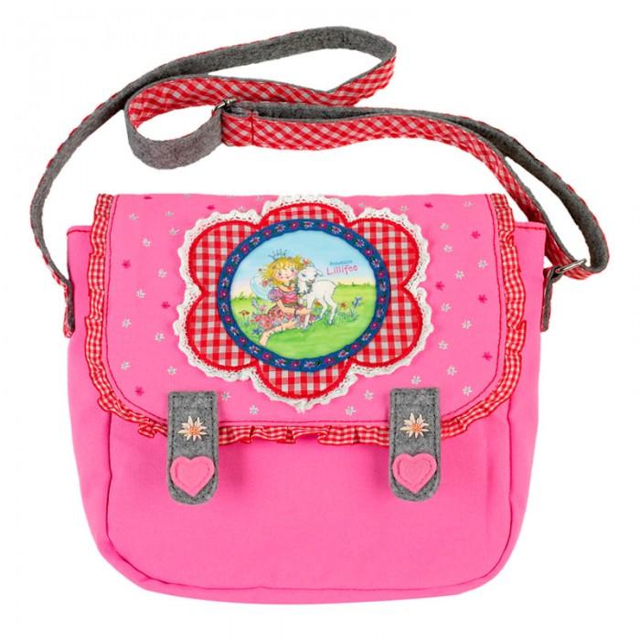 Spiegelburg Сумка Prinzessin Lillifee 30582Сумка Prinzessin Lillifee 30582Компактная сумка Prinzessin Lillifee для маленьких принцесс! Выполнена в розовом цвете с удобным ремешком и аппликацией. В нее Ваша малышка сможет положить все самые необходимые вещи для садика или прогулки.  Особенности:   Размер: 22 x 20 x 7 см<br>