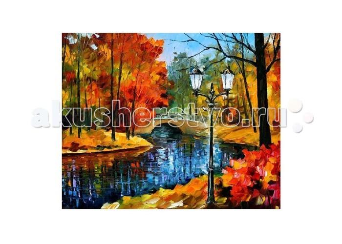 Картины по номерам Molly Картина по номерам Л.Афремов Парк картина по номерам