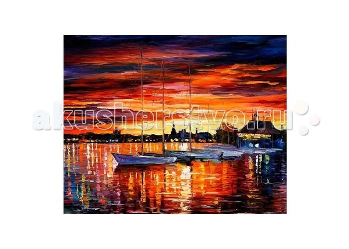 Картины по номерам Molly Картина по номерам Л.Афремов Парусные яхты Хельсинки molly картина по номерам сальвадор дали галатея сфер
