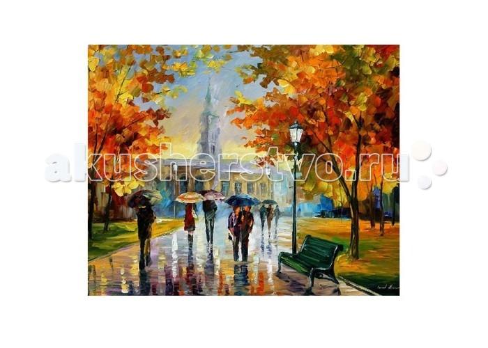 Картины по номерам Molly Картина по номерам Л.Афремов Прогулка в октябрьском парке хочу купить дом в октябрьском башкирии