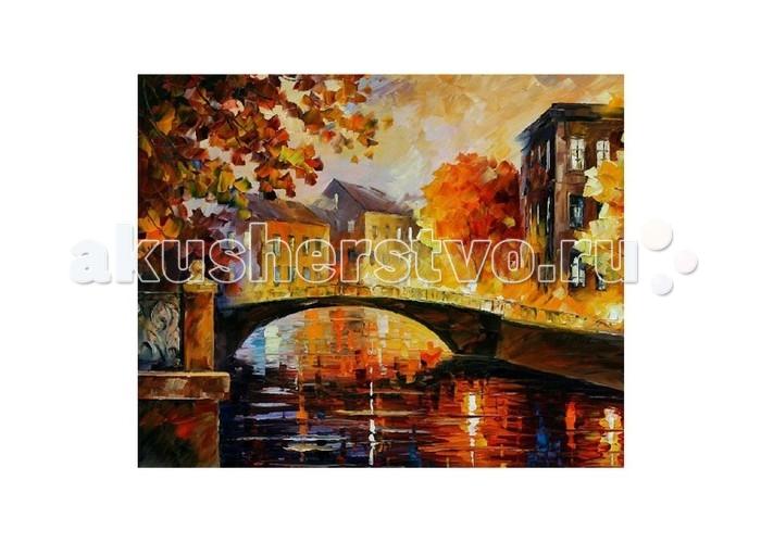 Картины по номерам Molly Картина по номерам Л.Афремов Река воспоминаний цветной картины по номерам щенки на поляне