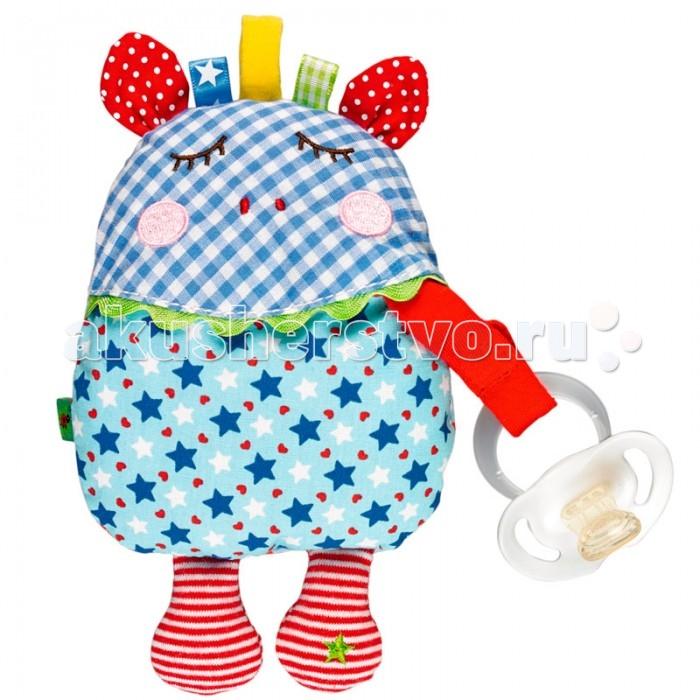Аксессуары для пустышек Spiegelburg Держатель для пустышки Baby Gluck 12343 халаты spiegelburg baby gluck размер l 104 116 90077