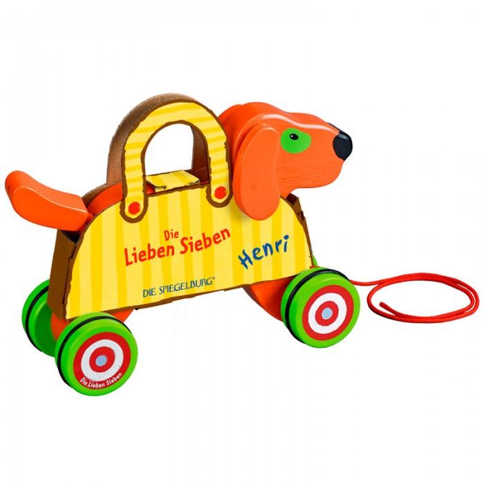 Каталка-игрушка Spiegelburg Собачка Bertie Die Lieben Sieben 11791