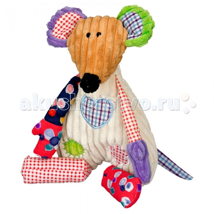 Мягкая игрушка Spiegelburg Веселая мышка 10695