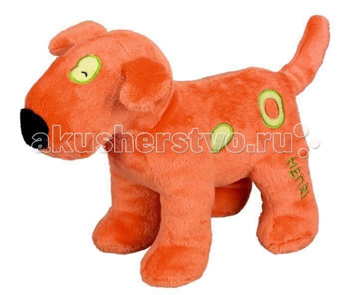 Мягкая игрушка Spiegelburg Плюшевая собака Henri 10738Плюшевая собака Henri 10738Spiegelburg Плюшевая собака Henri 10738 замечательная мягкая игрушка для маленьких детей!   Выполненная из плюша в виде оранжевого песика Генри с зелеными пятнышками она обязательно понравится детям и станет их любимой игрушкой!  Компания гарантирует высочайшее качество продукции и соответствие европейским стандартам.<br>