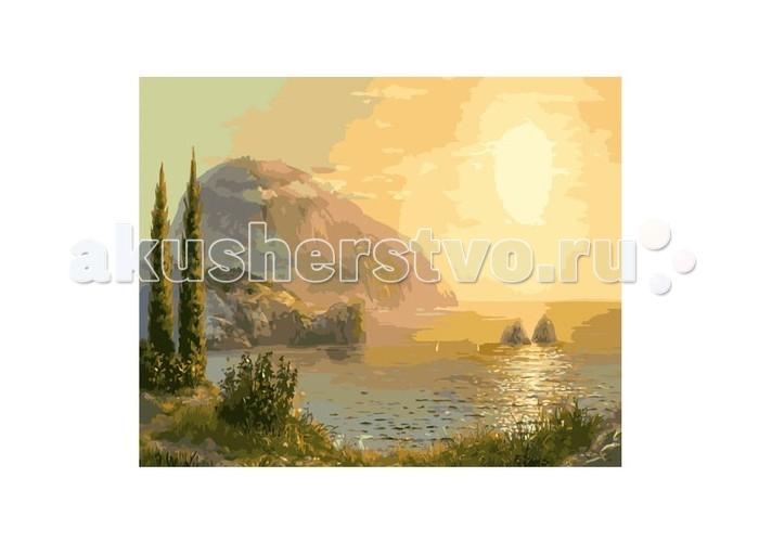 Картины по номерам Molly Картина по номерам Медведь-гора molly мозаичная картина зеленая долина 40х50 см