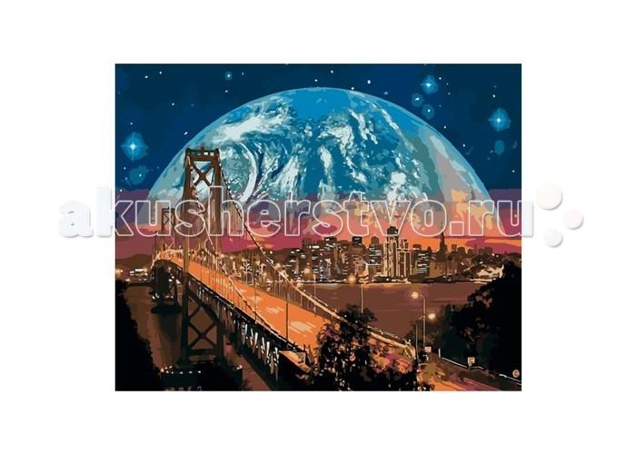 Картины по номерам Molly Картина по номерам Фантастическая планета картины в квартиру картина sunrise 35х77 см